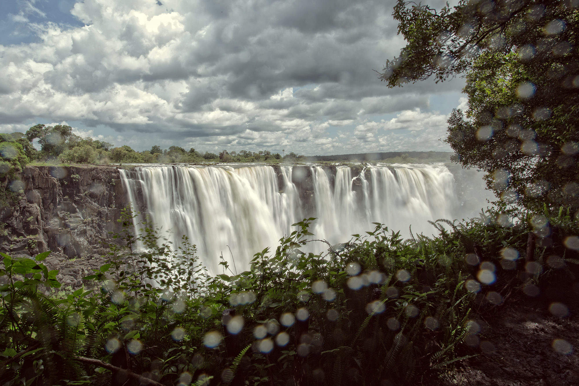 Waterfalls, Victoria Falls and a swimming pool