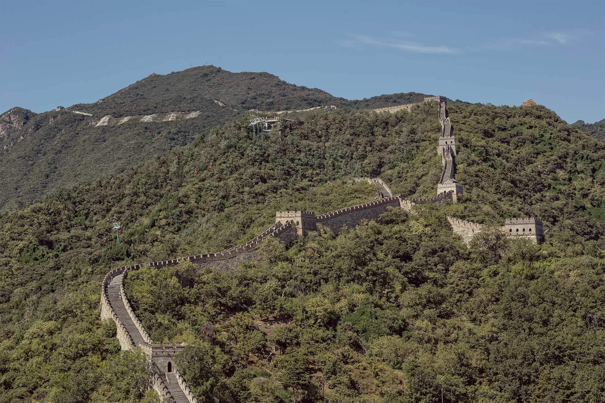 Mutianyu – the stunt at the Great Wall of China